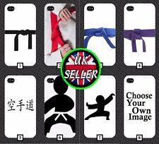 Funda protectora de teléfono de judo patrón de diseño cinturón negro de regalo de cinturón de Karate Ninja 205