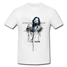 The Big Lebowski Premium Herren und Damen T-Shirt Motiv aus Paul Sinus Aquarell