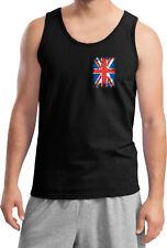Buy Cool Shirts Union Jack Tank Top Pocket Print