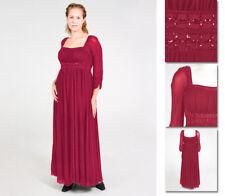 NEW Zaftique Medieval GUINEVERE DRESS Gown GARNET Red 1Z 2Z / 16 20 / XL 1X 2X