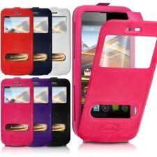 Etui Coque Silicone S-View Couleur Universel XS pour Samsung Galaxy Trend 2 Lit