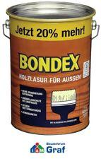Bondex Lasure Bois pour L'Extérieur 4,8 Litre / Différentes Couleurs / #879