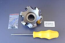 Ü, 80B-SE4R45-6T, 80mm 27mm 45 ° Cortador de tipo concha Cara Molino insertar CNC conv. Nueva