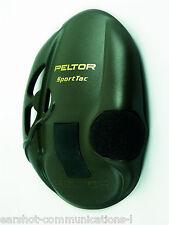 Peltor Sporttac Earshell in Green 210100-478-GN New Per Pair Main Peltor Dealer