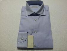 CIT camisa de hombre celeste hecha 100 % algodón MADE IN ITALY portabilidad re