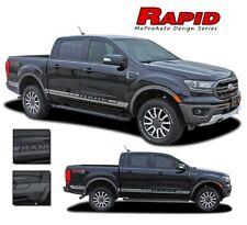 RAPID Ford Ranger Lower Rocker Panel Stripes Vinyl Graphics Decals Kit 2019 2020
