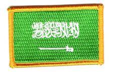 Parche bandera PATCH ARABIA SAUDITA 7x4,5cm bordado termoadhesivo nuevo