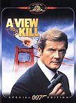 View to a Kill  DVD Roger Moore, Christopher Walken, Tanya Roberts, Grace Jones,