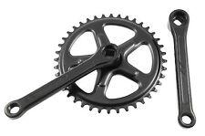40 DENTI 152 mm Cotterless chainwheel Manovella Set Nero Anello CATENA SINGOLA