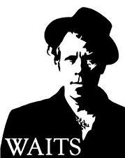 Tom Waits vinyl decal car window laptop sticker music