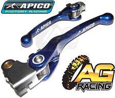 Apico Flexi Hebel Set blue Kupplungshebel Bremshebel für Yamaha YZ 250F 2009-2012