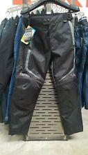 Motohart Route Waterproof Motorcycle Motorbike Trousers Pants - Black