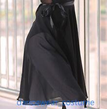 Adult Ladies Professional Ballet Dance Wrap Scarf Skirt 60cm Length Chiffon 9CO.