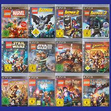 PS3 - Playstation ► Lego Spiel nach Wahl - Batman | Indiana Jones | Star u.v.m ◄