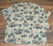 3XB Batik Bay Big & Tall Machine Washable Hawaiian Shirt MSRP 100% Rayon