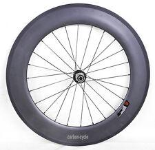 88mm Sapim spoke Carbon Rear Wheel Clincher Road Bike 700C Rim 23mm Rim 3k matt