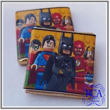 Personalised Milk Chocolate Neapolitan Lego Superheroes Design Party Favours