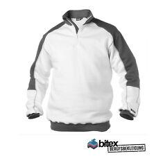 Malerpullover Basiel Workwear Sweatshirt Maler Berufsbekleidung weiß Workwear