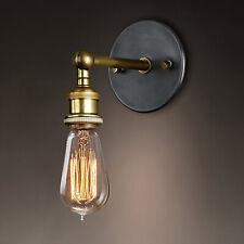 E27 Antik Stil Wandleuchte Vintage Industrie Wandlampe Flurlampe Retro Café 40W