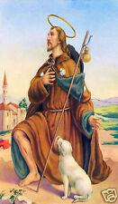 ADESIVO STICKER SANTINO HOLY CARD SAN ROCCO N 1