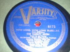78RPM Varsity 8173 Varsity 7, v-Joe Turner, How Long Blues/ Pom Pom E- to E