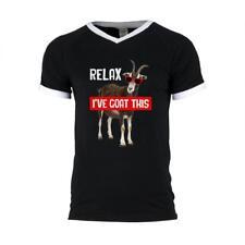 Relax I've Goat Got This Mens Soccer Jersey V-Neck T-Shirt