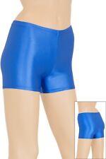 Damen Wetlook Hotpant starker Glanz verschiedene Farben elastisch Hauteng S-XL