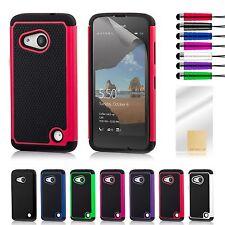 Doble Capa Funda A Prueba De Choques Para Lumia Teléfono+Protector Pantalla &