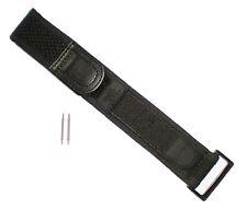 Luminox BLACK OUT Watch Band Nylon Navy Seals 22/23 mm 3000/3900/3050/3080 NO Br