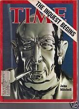 Time Magazine John Mitchell May 21, 1973