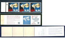 US Scott  # 1909 US Eagle and Moon Express Mail 3 stamps Booklet  MNH,OG,CV: $60