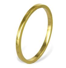 ECHT GOLD *** Dünner Ring Bandring / Größe wählbar