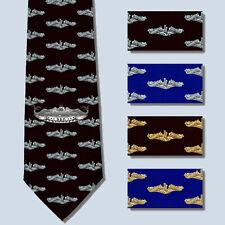 Diesel Boats forever DBF Submarine Necktie Tie SS SSN SSBN Dolphins
