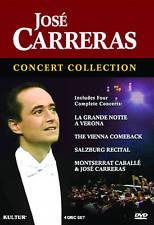Jose Carreras Collection - Montserrat Caballe & Jose Carreras (DVD, 2009, 4-Disc