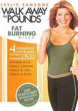 Leslie Sansone: Walk Away the Pounds - Fat Burning Miles (DVD, 2009)