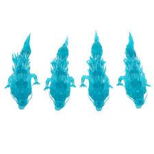 4 Pieces Japan Action Figure Model Toy Shriyu Dragon Blue Green Saint Seiya