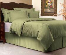 Sweet Dreams Cooling Sateen Stripe 3 Piece Duvet Cover Set