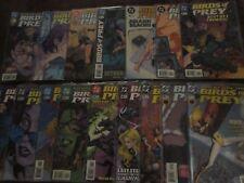 Birds of Prey (1999-2009) DC Comics (Oracle/Batgirl, Black Canary etc)
