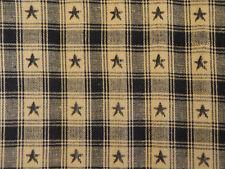 Star Fabric | Cotton Plaid Fabric | Americana Fabric | Home Decor Fabric