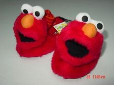 NWT Unisex Toddlers Elmo Sock Top Slippers Sesame Street Foot wear warm