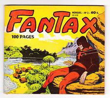 Récit complet. FANTAX n°2 - 2e série avril 1959