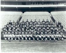 1966 ATLANTA FALCONS TEAM 8x10 PHOTO RARE 1ST YEAR PIC  FOOTBALL NFL AFL