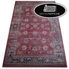 """schön zu berühren traditioneller Teppich RUST """"JASMIN"""" Weich wie Seide"""