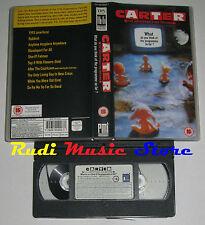 VHS CARTER The unstoppable sex machine WHAT THINK 1992 PMI no cd mc dvd *(VM1)