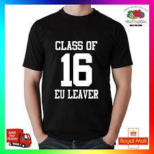 CLASSE di 16 EU Accessorio circostante FUNNY referendum Europeo rimangono EURO T-shirt Vacanza UK