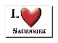 DEUTSCHLAND SOUVENIR - NIEDERSACHSEN MAGNET ICH LIEBE  SAUENSIEK (STADE)