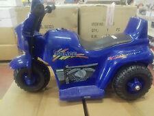 moto elettrica polizia 6v  colori disponibili bianco e blu.OFFERTA!!!