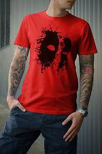 DEADPOOL Splatter T-Shirt Marvel ispirato