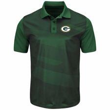 Green Bay Packers Men's Short Sleeve Polo Shirt NFL TX3 Cool Sizes-S,M,XL ,XXL