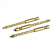 6/8/10/12mm Titanium Tungsten Drill Bit Carbide Tile Glass Cross Spear Head Hot